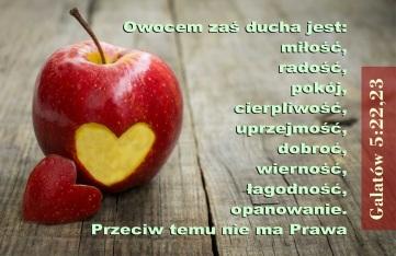 miłość owocem